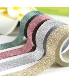 Lepící páska s glitry