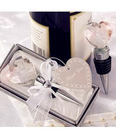 Zátka na víno ve tvaru srdce
